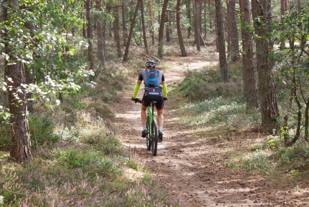 Mountainbike singletrack Epe