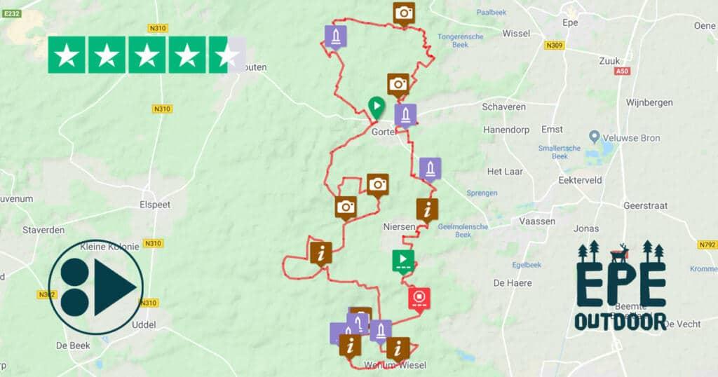 MTB route Het Edelhert