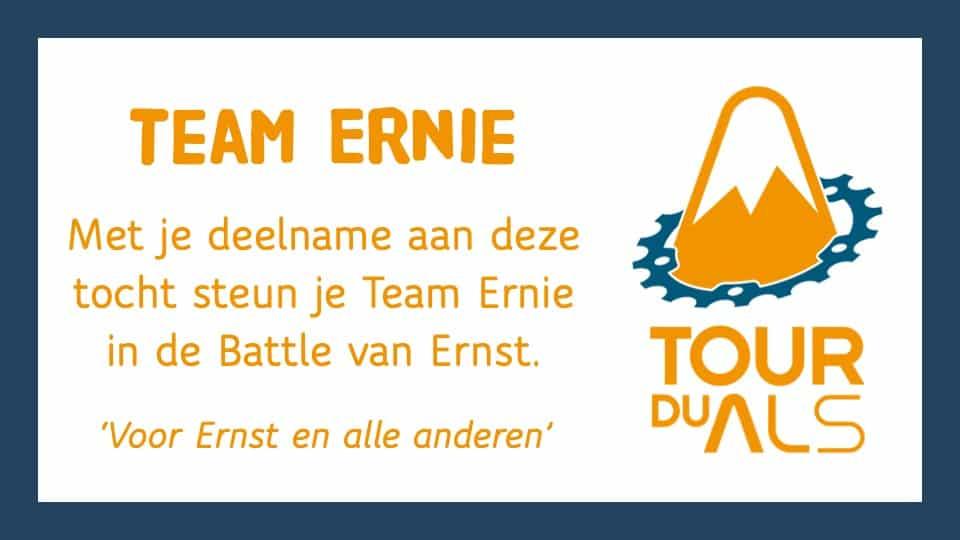 Steun Team Ernie in de strijd tegen ALS